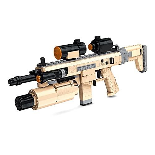 Morton3654Mam Juego de construcción para armas de tiro, 767 piezas, con función de disparo, compatible con Lego