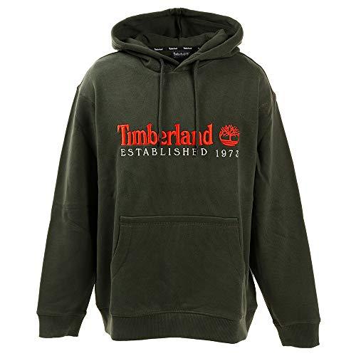 Timberland OA Hoodie Felpa Con Cappuccio Verde TB0A1ZDFU31