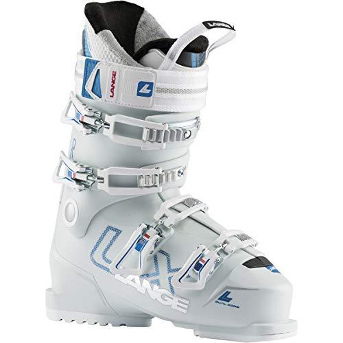 Lange LX 70 Damen-Skischuhe, Mineral WH/Met Blue, 23,5 Mondopoint (cm)