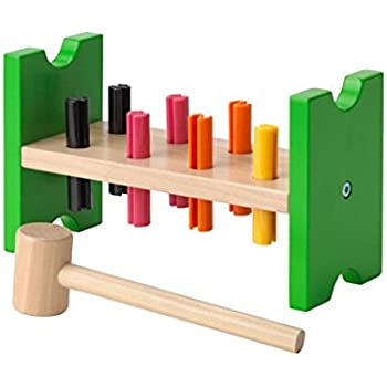 IKEA MULA 2016 new Toy hammering block, multicolour