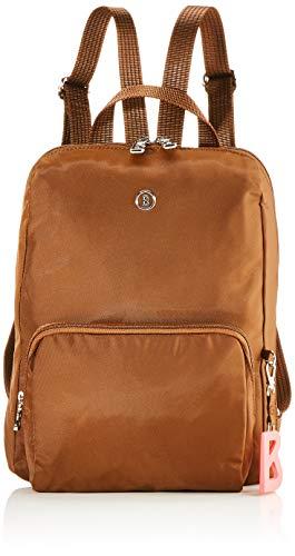 Bogner Damen Verbier Maxi Backpack Mvz Rucksack, Braun (Cognac), 4x32x27 cm