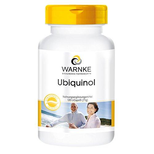 Ubiquinolo 50 mg - 120 LiCaps - Forma attiva del Coenzima Q10