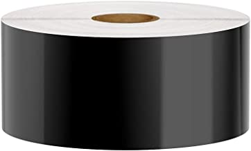 Premium Vinyl Label Tape for DuraLabel, LabelTac, VnM, SafetyPro and Others, Black, 2