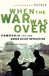 Book on Cambodia called When the War Was Over