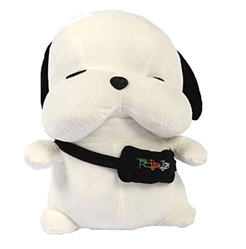 Stray Dog peluche peluche animaux enfants jouet 1pcs, hauteur 42 cm, blanc
