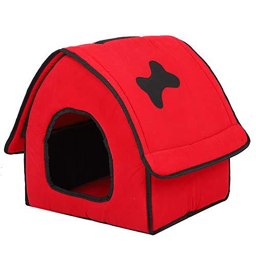 PINSHangFENg Avtagbara Husdjur Tält Mjuk Säng Husdjur Fällande Säng Är Lätt Att Bära Och Lätt Vikt Är Tillverkad Av Flocka Tyg Och Svampa