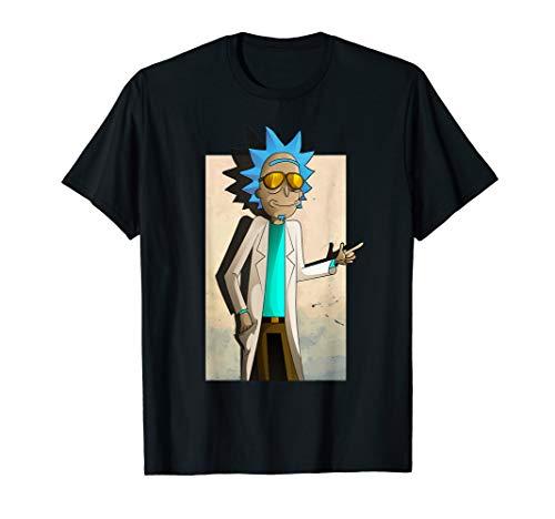 Rick and Morty Shirt Cool Rick of Ricklantis T-Shirt T-Shirt