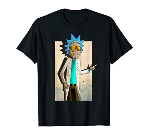 Mademark x Rick and Morty - Rick and Morty Shirt Cool Rick of Ricklantis T-Shirt T-Shirt