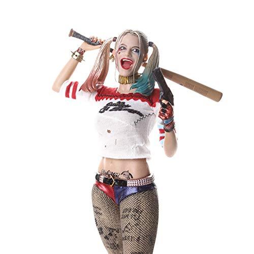 DC Comics Harley Quinn Figura Model Estatua Juguetes 28cm A