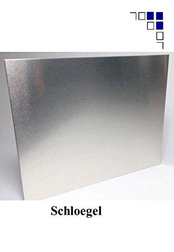 6mm Aluminium Zuschnitte eins. Folie 250x200