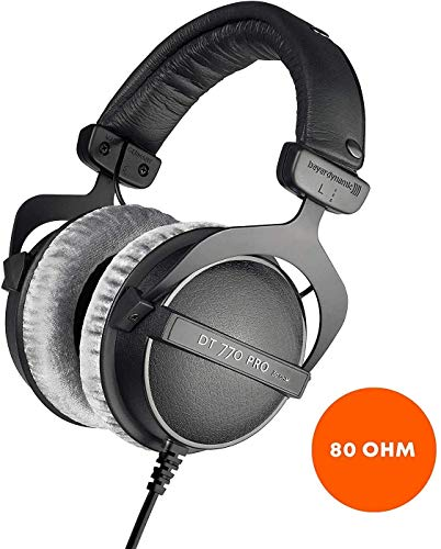 beyerdynamic DT 770 PRO Studio Headphones - 80 Ohm
