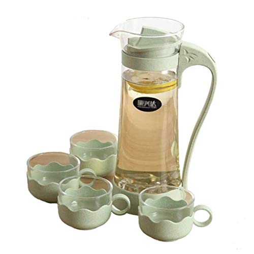 Best Buy! Teapot Set - Cool Water Cup Juice Jug Water Bottle Bedroom Home Living Room Kitchen Aftern...