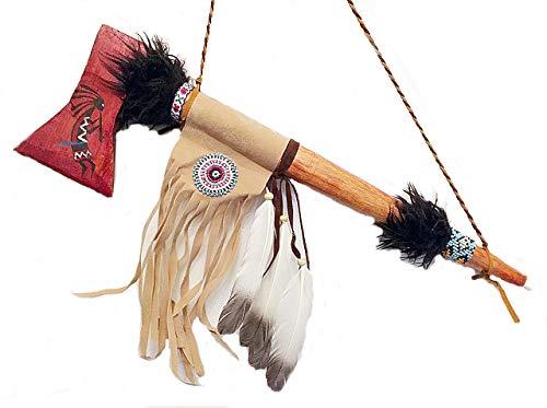 Indianer Set Bogen Pfeile Messer 7 Teile Kunststoff Spielzeug Fasching Karneval