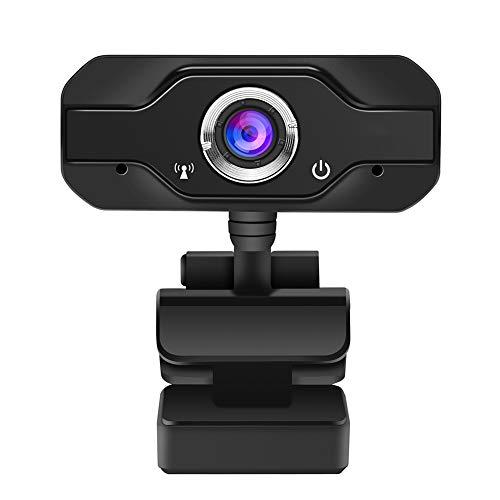 Abilieauty HD Webcam Cámara Digital Exterior Digital de Alta Definición 1080P para Conferencia de Clase Online