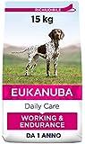 Eukanuba Daily Care Working & Endurance Alimento Secco per Cani Adulti da Lavoro e Molto Attivi,15 kg