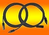 2 x 10m Solarkabel schwarz 4mm2 mit MC 4 Stecker montiert für PV Photovoltaik