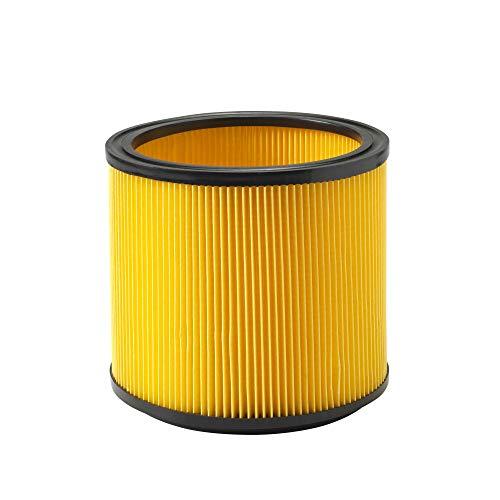 Vacmaster - Filtro de cartucho desechable para aspiradoras húmedas y secas de 15 a 60Ls