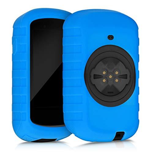 kwmobile Carcasa GPS Compatible con Garmin Edge 830 - Funda de Silicona para navegdor de Bici - Azul