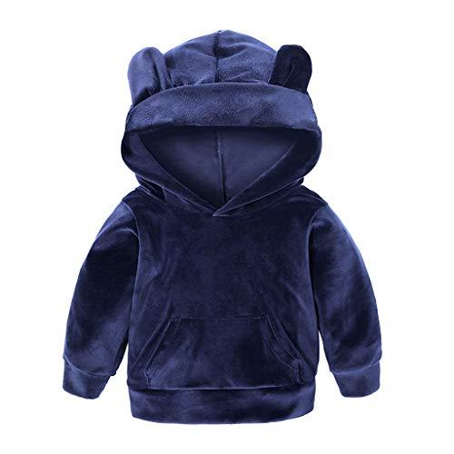 Storerine Sweat-Shirt Garçon, Survêtement 1-7 Ans Jogging Enfant Imprimé Animaux Hiver Pullover Manches Longues Déguisement Fille Chemisier Hauts Vêtement pour Poupée Bébé