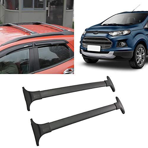 Autoxrun Crossbars Fit 2013-2017 Ford Ecosport Lockable Baggage Luggage Racks Roof Racks Rail Cross Bar
