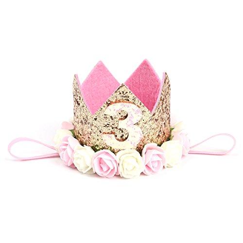 Toymytoy - Corona para bebé, princesa, ideal para fiestas de cumpleaños