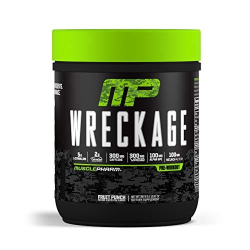 MusclePharm Wreckage Pre-Workout Powder