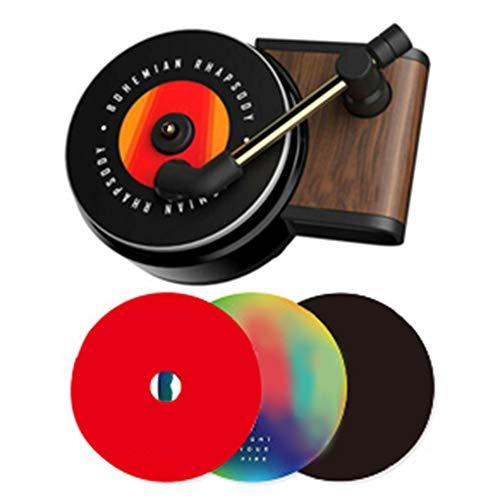 LYNN Auto-Lufterfrischer mit Clip, Vintage-Stil, Plattenspieler-Dekor
