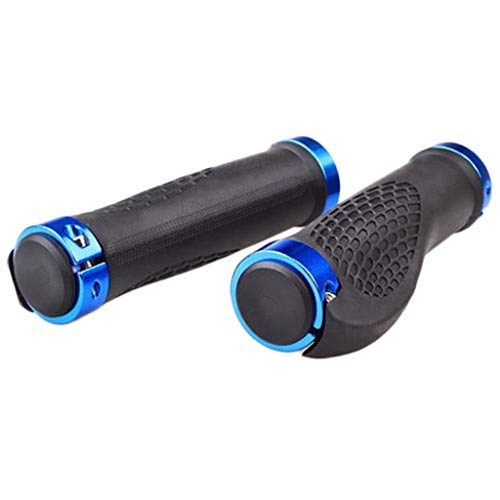 Fineday 2PCs Bike Racing Bicycle Motorcycle Handle Bar Foam Sponge Grip Cover Non-Slip, Bike Accessories, Outdoor Sport Products HotSales (Blue)