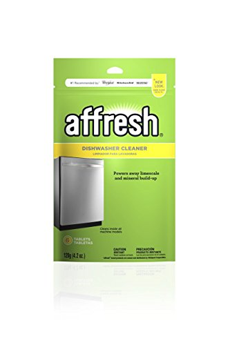 Affresh Dishwasher Cleaner, 6 Tablets | Formulated to Clean Inside All...