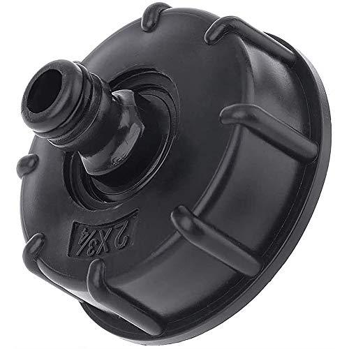 "IBC Adaptador S60x6 3/4 Válvula de Bola-JPYZ Rosca 3/4"",Adaptador de Depósito de 1000 litros"