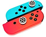 FAMPER Switch Thumb Grips , Anti-slip Caps for Switch/ Switch Lite Joy Con Controllers Button Stick-Black