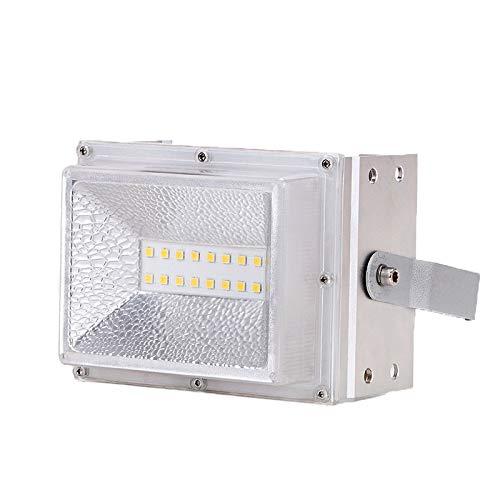 Led-schijnwerper, fluorescerend waterdicht, buitenverlichting, werkplaats, verlichting, buitenverlichting, tuinverlichting 100w Positief wit licht