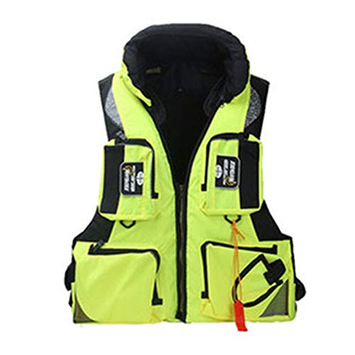 Best Review Of PUEEPDEE Life Jacket Life Jacket Portable Adult Professional Fishing Suit Sea Fishing...