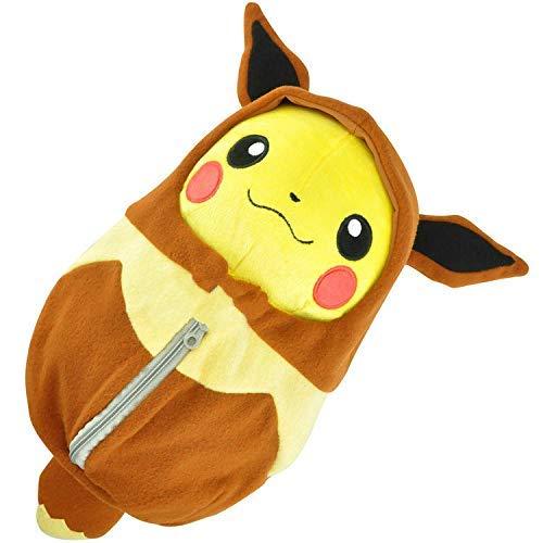 LHAHGLY Pokemon Spiel Pokemon Pokeacute; Mon Pokeacute; Mon Plüsch Puppe Spielzeug Schlafsack Pikachu Pokemon Kuscheltier