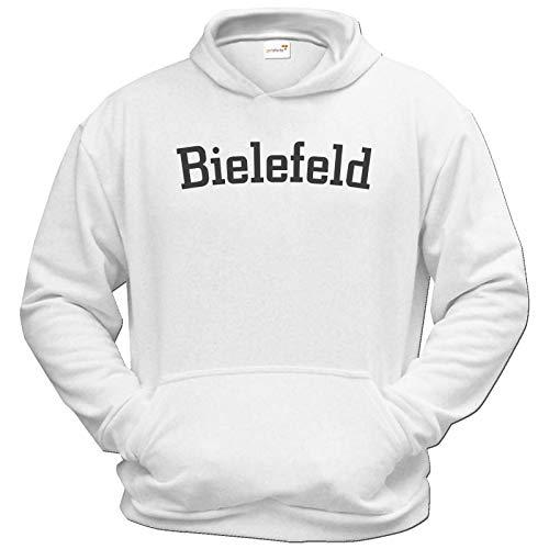 getshirts - Best of - Hoodie - City - Bielefeld - Weiss XXXL