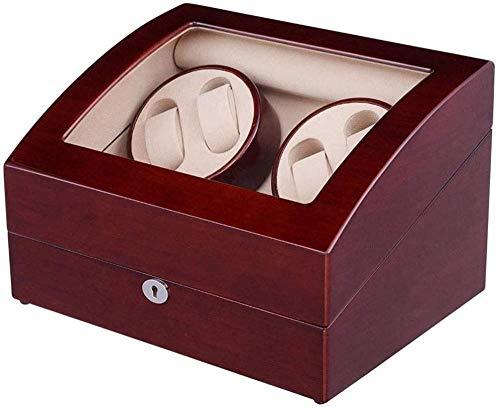 Caja de reloj con tapa de cristal, 12 unidades, caja de almacenamiento para joyas, caja de almacenamiento para pulsera, bandeja de piel sintética