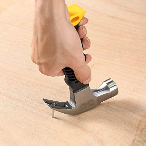 Mr. Pen- Hammer, 8oz, Small Hammer, Camping Hammer, Claw Hammer, Stubby Hammer, Tack Hammer, Hammers Tools, Small Hammer for Women, Nail Hammer, Magnetic Hammer, Handy Hammer, Teal Hammer, Kids Hammer