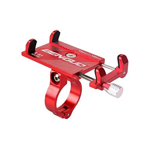 Benguo - Soporte para teléfono móvil, universal, para bicicleta de montaña, BMX,...