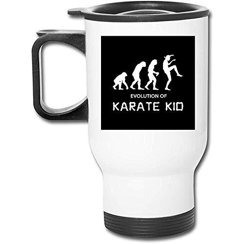 Kobra Kai Entwicklung des Karate-Kindes 16 Unze-rostfreier Becher-doppelte Wand-Vakuumkaffeetasse