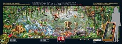 Educa Borras - XXL Puzzles, Puzzle 33.600 piezas, Vida Salvaje (16066)
