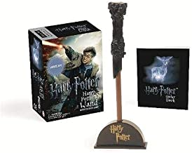 Harry Potter Wizard's Wand with Sticker Book: Lights Up! (RP Minis)