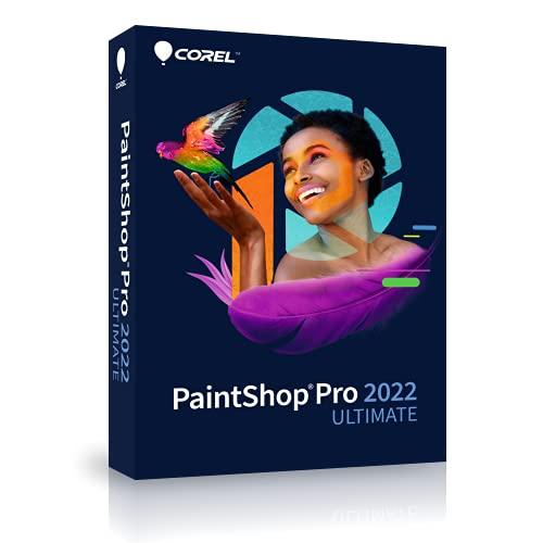 Corel PaintShop Pro 2022 ULTIMATE|Ultimate|1 Device|Perpetual|PC|Disc
