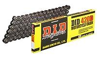 D.I.D(大同工業)バイク用チェーン クリップジョイント付属 420D-140RB STEEL(スチール) 二輪 オートバイ用