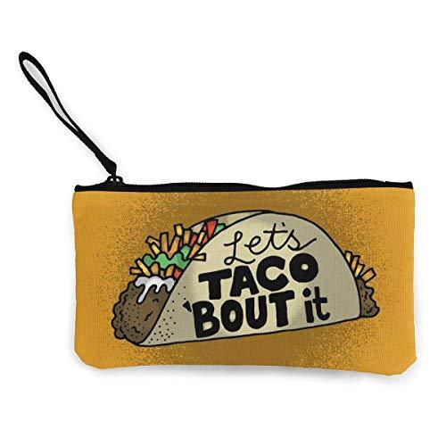Coin Pouch Taco, Geldbörse, Handy, Kartentasche mit Griff und Reißverschluss