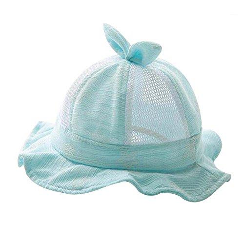 Chapeau de plage pliable vert chaude Bon cadeau Chapeau de bébé Chapeau d'été en coton Sunhat