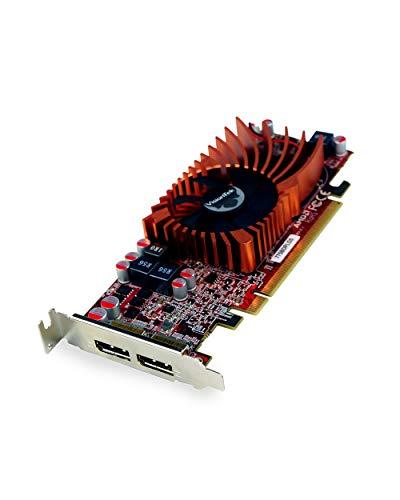 VisionTek Radeon 7750 2GB GDDR5 SFF Grafikkarte, 4k 2 DisplayPort 1.2, PCIe, 7.1 Surround Sound, inklusive Halterung in voller Höhe (900942)