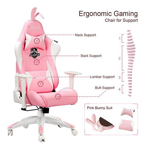 AutoFull Pink Gaming Stuhl für Mädchen kaufen  Bild 1*