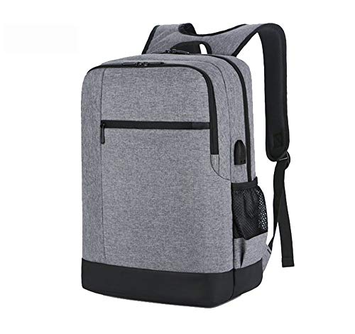 Travel Laptop Backpack Waterproof Anti-Theft Bag with USB Charging Port Fits Slim Durable 15.6 Inch Notebook for Men and Women Multifunctional Casual Business Hiking Daypack