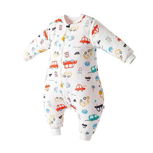 QFYD FDEYL Saco Dormir bebés Mangas extraíbles,Saco