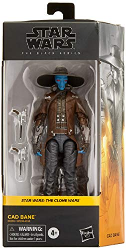 Star Wars The Black Series Cad Bane Toy 6-Inch Scale Star Wars: The Clone Wars Figure, Toys for Kids Ages 4 and Up